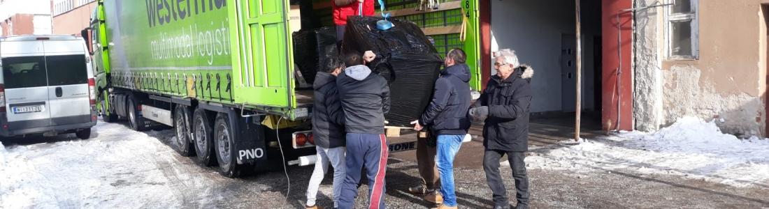 Reisverslag hulpgoederentransport naar Servië